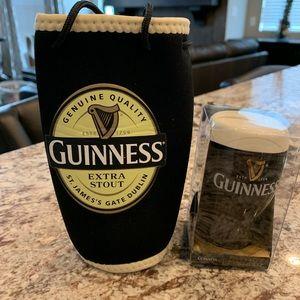 New Authentic Guinness Beer Cooler Salt shaker set